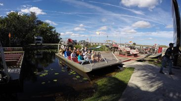 The everglades - Air boat