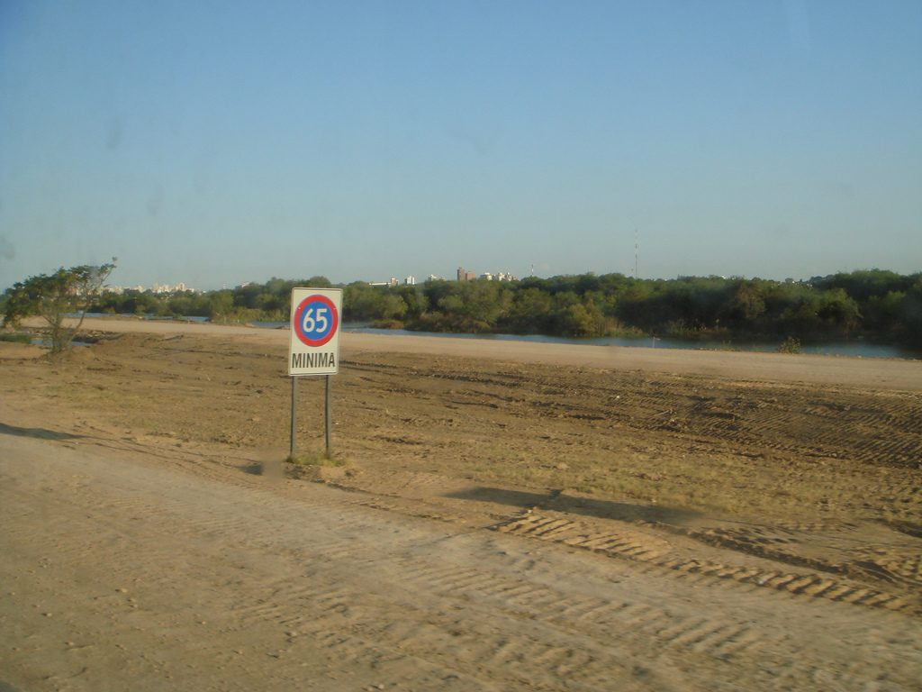 ARGENTINA SPEED LIMIT