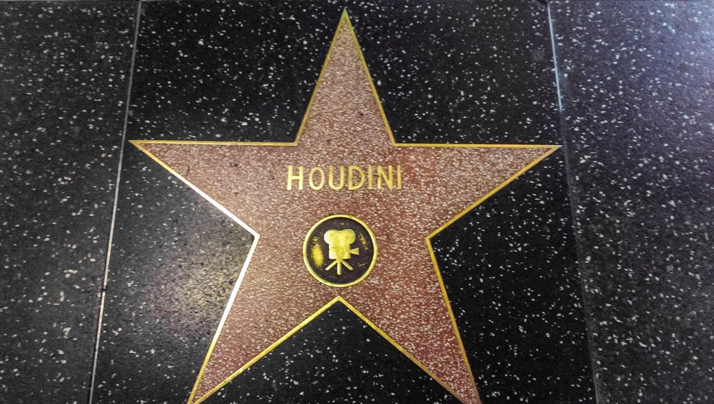 Walk of Fame Houdini