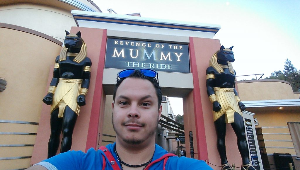 The revenge of the Mummy Attraction