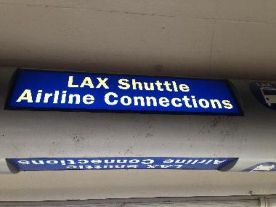 LAX Shuttle Airline connection