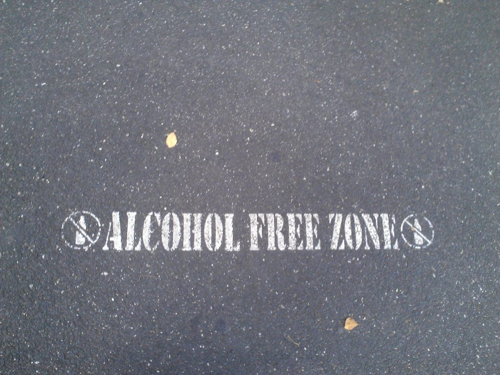 Alcohol Free Zone Australia