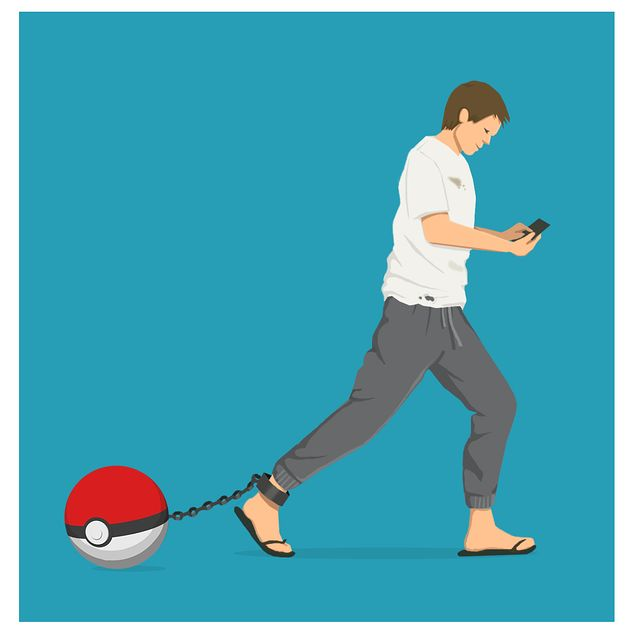 Pokemon Go Voyage Addiction