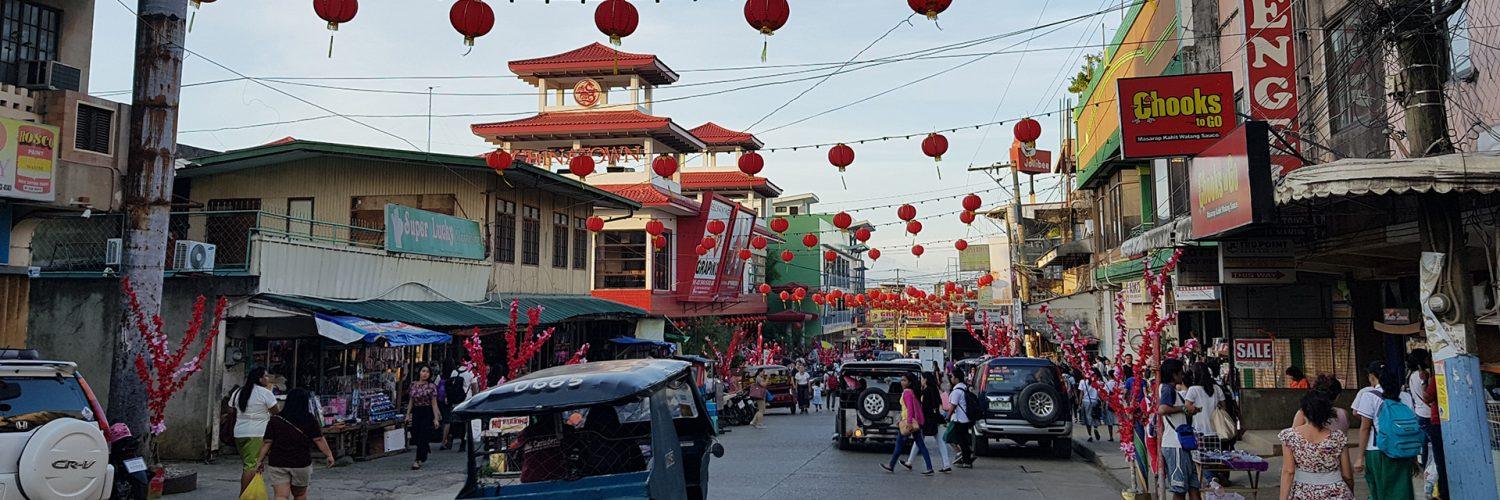 Chinatown in Puerto Princesa, Philippines